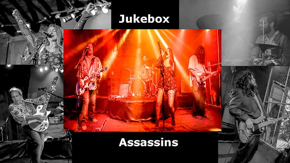 Jukebox Assassins play several types of music from several eras in Sarasota, FL