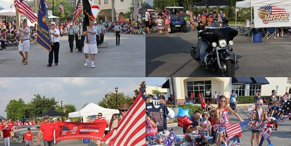 Lakewood Ranch Tribute to Heroes Parade on Main St.
