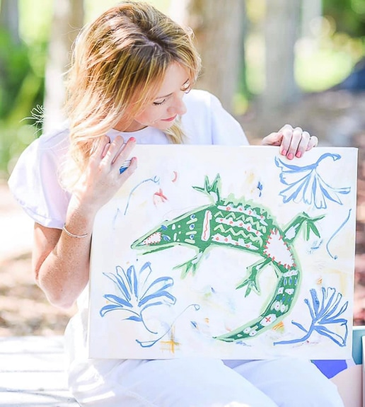 Meet the Artist – Candace Wiant at Art of Living Collective in Sarasota, Fl