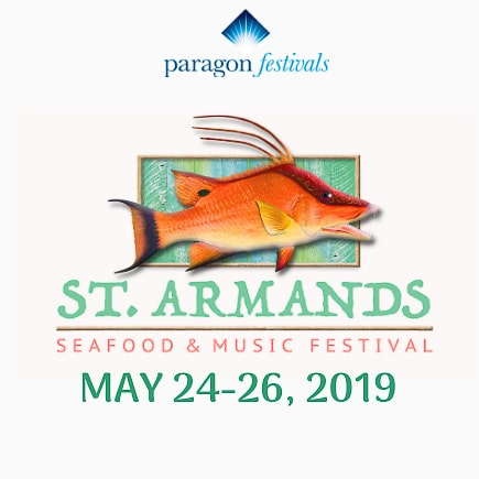 St Armands Seafood & Music Festival at St. Armands Circle Park, Sarasota, FL