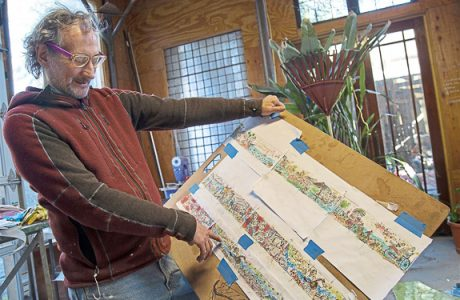 The Magic River Mosaic Mural To Be Installed In Downtown Bradenton, FL