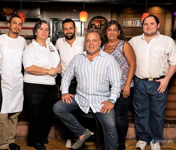 Maurizio Colucci and his staff at Primo-Ristorante in Sarasota, FL