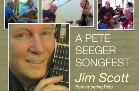 Jim Scott Remembers Pete Seeger in Song at Fogartyville in Sarasota
