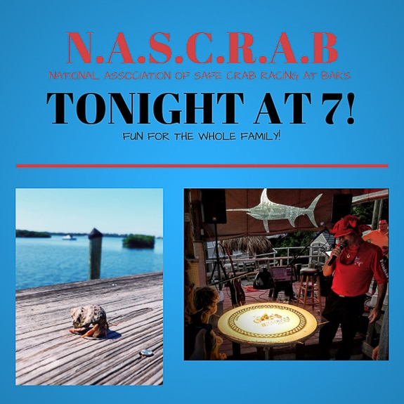 N.A.S.C.R.A.B. Tuesday! at The Swordfish Grill & Tiki in Cortez, FL