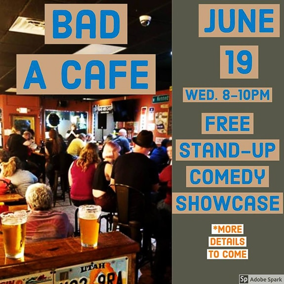 Bad A Comedy Showcase Show Ten: Double Digits! at Bad A Cafe in Bradenton, FL