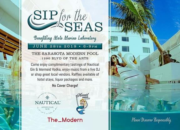 Sip for the Seas at The Sarasota Modern, a Tribute Portfolio Hotel in Sarasota, FL