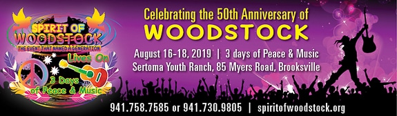 Spirit of Woodstock event in Brooksville, FL