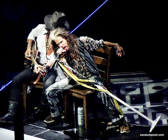 Aerosmith's Toxic Twins, Perry and Tyler, bringing it to the Park Theater in Las Vegas