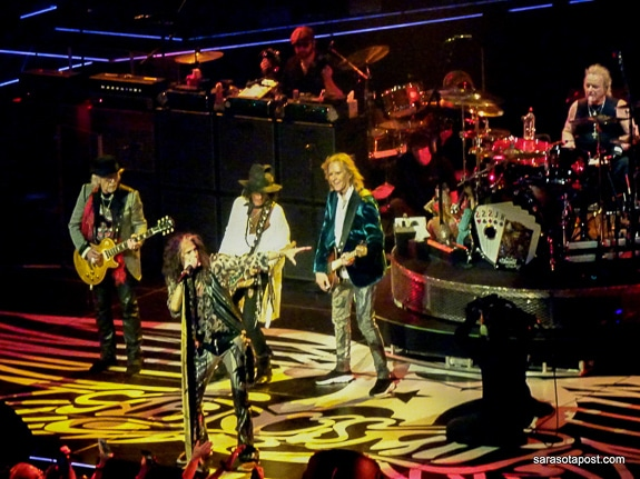 "Aerosmith performing their ""Deuces Wild"" Residency at Park Theater in Las Vegas"