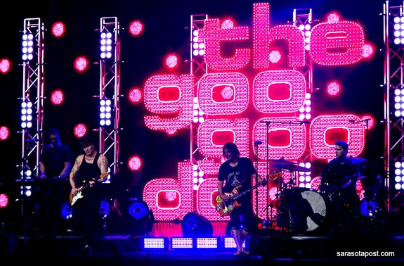 Goo Goo Dolls and Train Roll into the Tampa Mid-Florida Amphitheater
