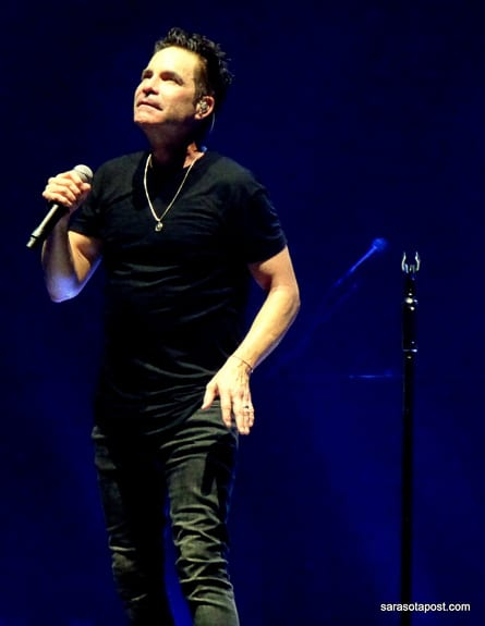 Pat Monahan with Train at the Tampa Mid-Florida Amphitheater on tour!