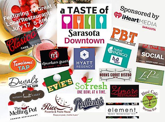"17 Restaurants to Make ""A Taste of Sarasota DOWNTOWN"" a Tasty Affair"