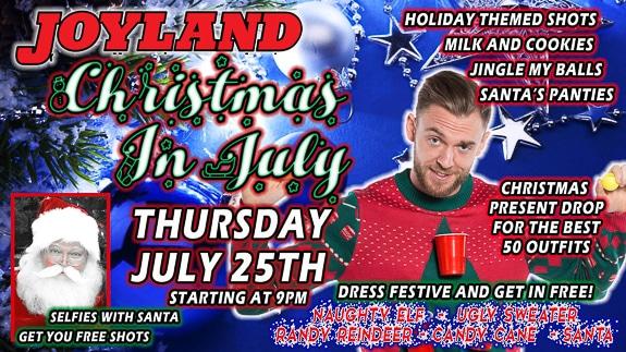 Christmas in July at Joyland Country in Bradenton, FL