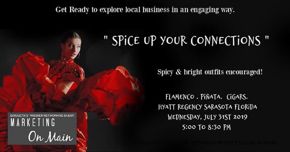 Spice up your connections/Marketing on Main at Hyatt Regency Sarasota