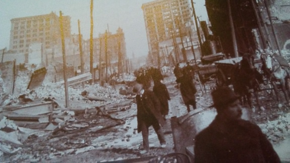 San Francisco had a horrible earthquake in 1906 that was devastating.