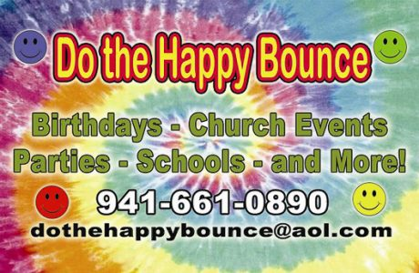 Doing the Happy Bounce In Sarasota County