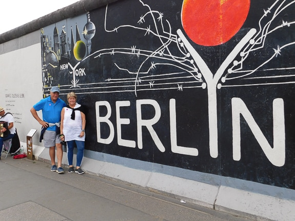 The author visited Berlin, Germany with her friends on the Best Vacation