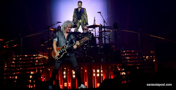 """Queen and Adam Lambert's """"Rhapsody"""" Tour Rules Tampa at the Amalie Arena"""