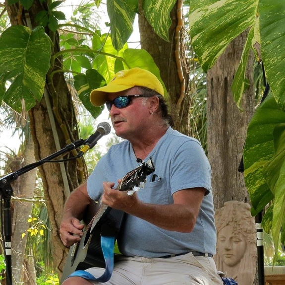 Paul Elliott at The Elixir Tea House in Sarasota, FL