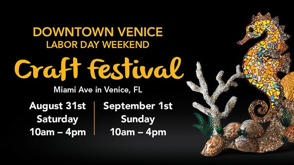 11th Annual Downtown Venice Labor Day Weekend Craft Festival