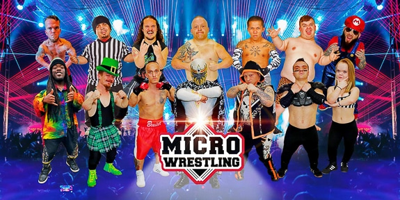 All-New All-Ages Micro Wrestling at Robarts Arena! Sarasota county Fairgrounds & Robarts Arena, FL