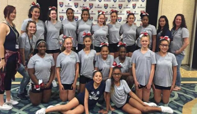 American Youth Cheer Team Photo