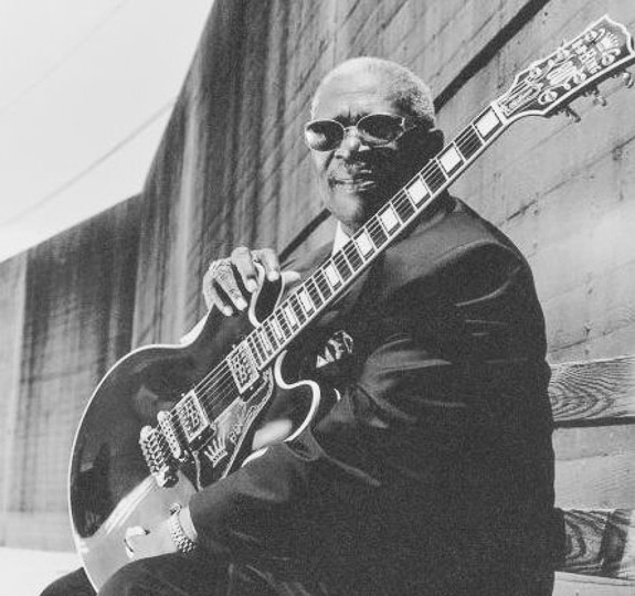 The B.B. King concert at the Van Wezel in Sarasota, FL was the author's favorite concert ever.