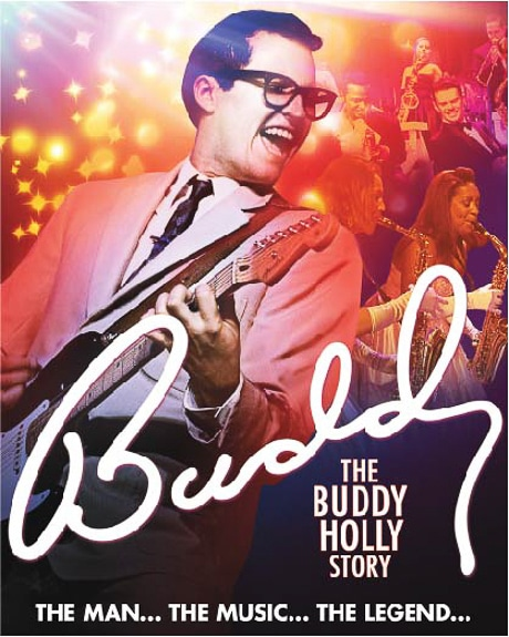 Buddy, The Buddy Holly Story will be performed at the Manatee Performing Arts Center in Bradenton, FL