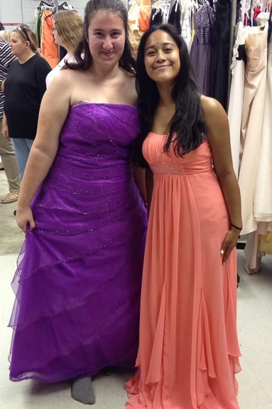 Cinderella's Closet helps girls with free prom and homecoming gowns.