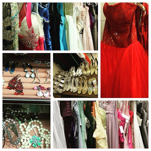 Cinderella's Closet also has the accessories girls need to complete their prom outfits.