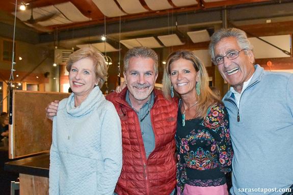 Gail Lopez, Tim Applegate, Deb Applegate, Doug Lopez