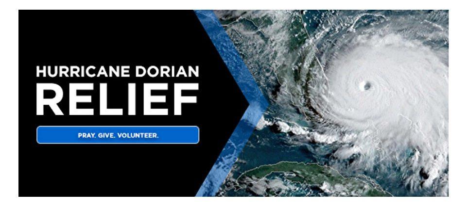Holmes Beach, FL A Paradise Realty- Hurricane Dorian Disaster Relief Effort