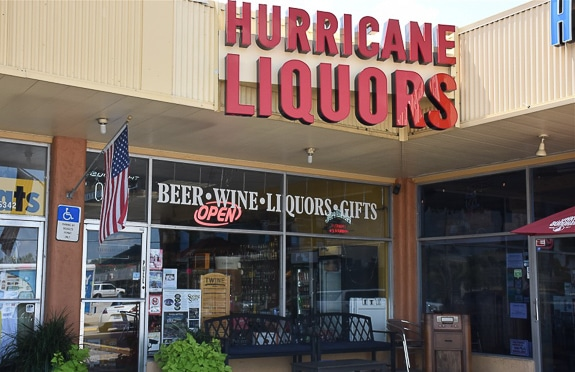 Hurricane Liquors on Anna Maria Island, FL is the author's favorite.