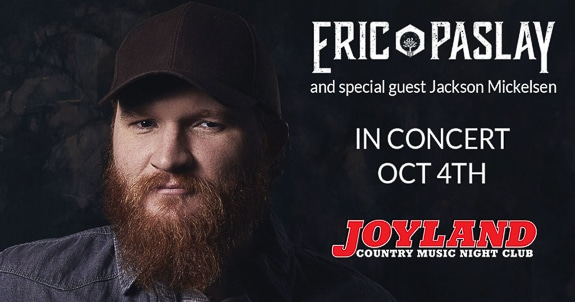 Eric Paslay and Other Singers in Concert at Joyland in Bradenton, Florida