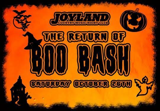 Boo Bash is Joyland's famous Halloween Party in Bradenton, Fl