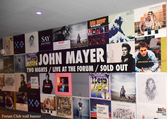Spending Friday Night with John Mayer at the Los Angeles Forum