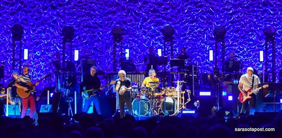 """Vicky Sullivan From The Sarasota Post Reviews The Who """"Moving On"""" Tour In Tampa At The Amalie Arena"""