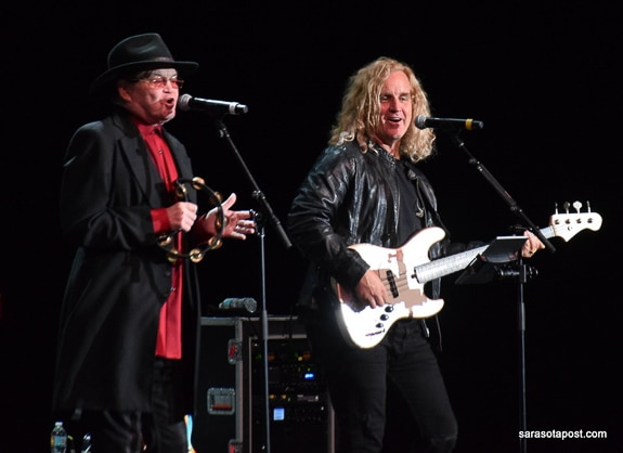Micky Dolenz and Jason Scheff performed at Ruth Eckerd Hall in Clearwater, FL