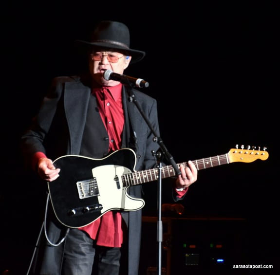 Micky Dolenz from The Monkees performed in the Tribute to the Beatles White Album Tour at Ruth Eckerd Hall in Clearwater, FL