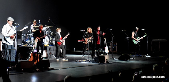 Wonderful group of musicians at the Tribute to the Beatles White Album Tour at the Ruth Eckerd Hall in Clearwater, FL
