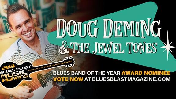 Doug Deming & The Jewel Tones at The Cortez Kitchen in Cortez, FL