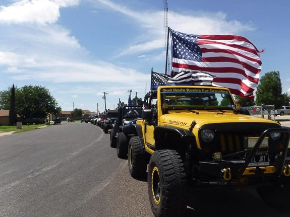 First annual 9/11 Remembrance Jeep Ride & Show and Shine in Bradenton, FL