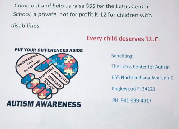 Bowling fundraiser for The Lotus Center for Autism at Bowland Port Charlotte in Port Charlotte, FL