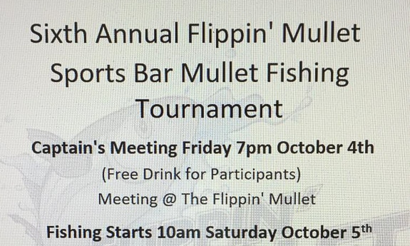6th Annual Flippin' Mullet Mullet Fishing Tournament in Cortez, FL