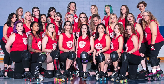 The team of women in The Bradentucky Bombers are like a group of sisters.