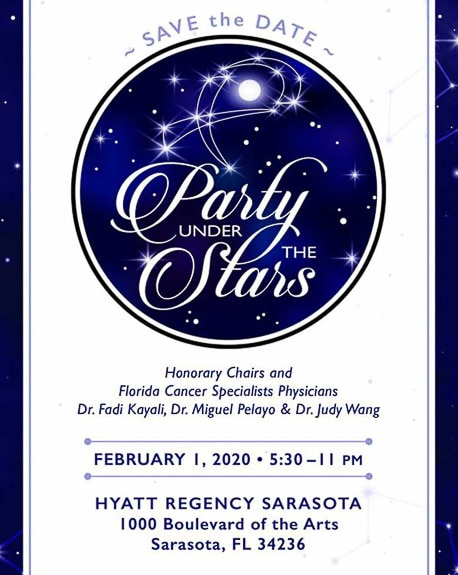 Party Under The Stars benefits Florida Cancer Secialists Foundation