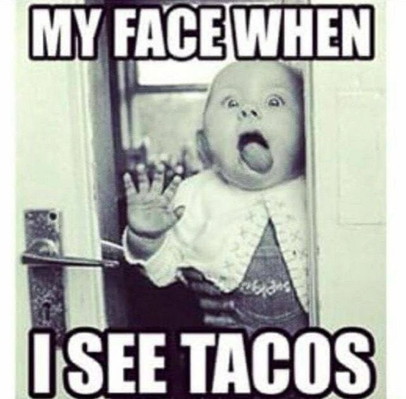 Many people love to eat tacos!