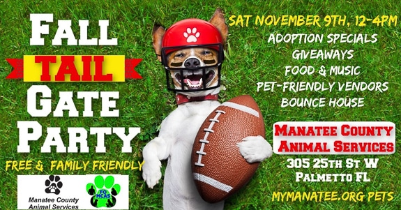 Manatee County Animal Services Tail-Gate Party In Palmetto, FL