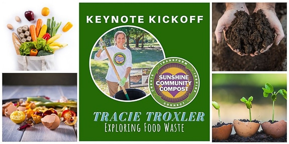 Tracie Troxler from Sunshine Community Compost will speak at an Eat Local Week event.