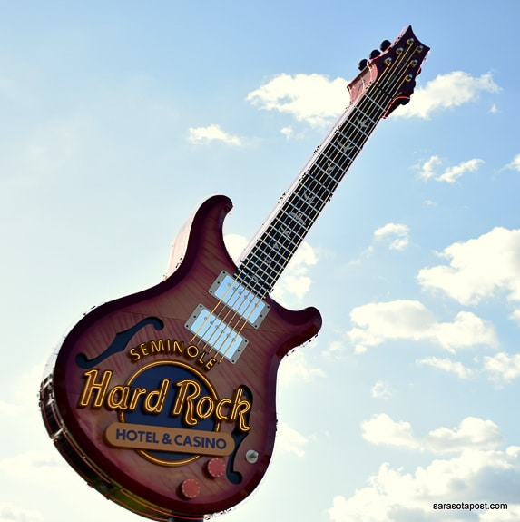 The Seminole Hard Rock Grand Opening in Tampa